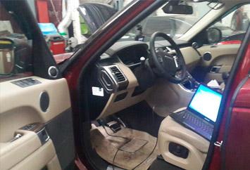 Range Rover Sport TDV6 3.0 16г.в Чип + расширение функционала