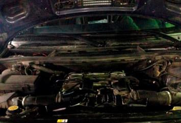 Ремонт двигателя на Range Rover 5,0L Supercharged