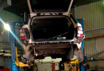 Ремонт турбин на Range Rover Sport 3,6L